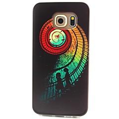 farve trapper mønster TPU materiale telefon tilfældet for Samsung Galaxy S3 S4 S5 S6 s3mini s4mini s5mini s6 kant