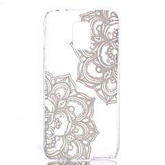 diagonale modello di fiori pc trasparente cassa del telefono materiale per la galassia S6 / S6 edge / s5 / s3mini / s4mini / s5mini