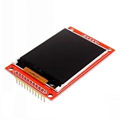 """2.2 """"المسلسل SPI TFT LCD ملونة وحدة لاردوينو"""