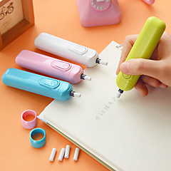 Handy Electric Eraser Battery Operated Eraser with 5 Refills (Random Color)