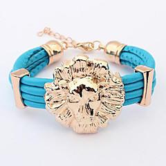 Cusa  Lion Pendant Bracelet
