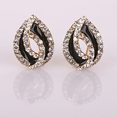 New Fashion Bud Diamond  Clip Earrings Wedding/Party/Daily/Casual 2pcs