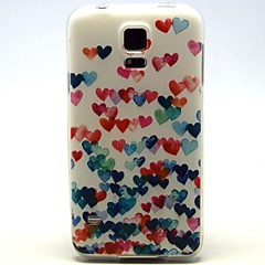 Colorful Peach Pattern TPU Soft Case for Samsung Galaxy S3/S3 Mini/S4/S4 Mini/S5/S5 Mini