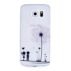 Dandelion Pattern Thin Transparent TPU Material Phone Case for Samsung Galaxy S6 /S5 /S4 /S3 /S4Mini /S5Mini