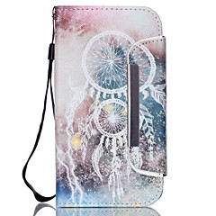 Campanula Pattern Two-in-One PU Leather for Samsung Galaxy S5 S4 S4Mini