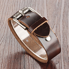 Leather Tongkou Men's Bracelet