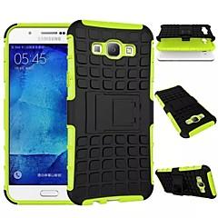 Voor Samsung Galaxy hoesje Schokbestendig / met standaard hoesje Volledige behuizing hoesje Pantser PC Samsung A8 / A7 / A5 / A3