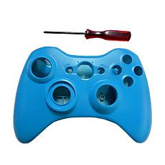 ersättnings fall skal&knappen kit för Microsoft Xbox 360 Wireless Controller (blandade färger)