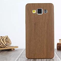 For Samsung Galaxy etui Mønster Etui Bagcover Etui Imiteret træ Kunstlæder for Samsung A7 A5 A3