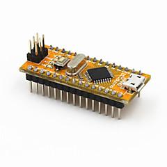 nouveau module nano v3.0 ATmega328P-au version améliorée pour Arduino - jaune