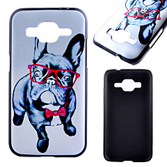 For Samsung Galaxy etui Mønster Etui Bagcover Etui Hund PC for Samsung Xcover 3 J1 Core Prime Alpha Ace 4
