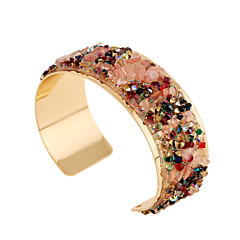 Fashion Colorful Crystal Metal Gold Bracelet