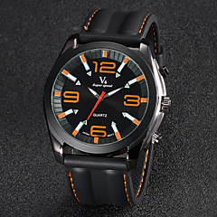V6® Men's Watch Dress Watch Fashion Silicone Strap  Cool Watch Unique Watch