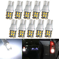 lorcoo ™ 10 x t10 20-SMD 1210 valkoisen led auton valot lamppu 194 168 2825 5W