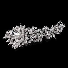 Vintage Charming Design Wedding Bride  Starfish Headband Cown Crystal And Pearls Hair Accessior
