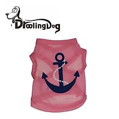 Azul/Rosado Terylene - Camiseta - Perros/Gatos -
