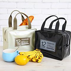 dulces de colores aislados almuerzo bolso de mano de picnic totalizador más fresco térmico (color al azar)