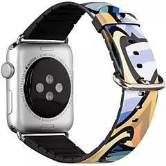 Watch μπάντα για ρολόι μήλου 38mm 42mm pu δέρμα κλασικό βραχιόλι αντικατάσταση πόρπη