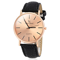 V6® Men's Watch Dress Watch Simple Style Bronze Round Dial Cool Watch Unique Watch Fashion Watch
