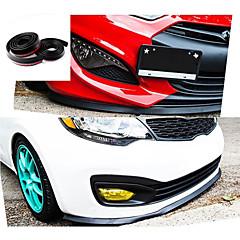 최신 2.5M / 롤 자동차 스타일링 멀티 편향 보편적 인 전면 입술 범퍼 스포일러 외부 자동차 액세서리