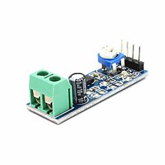 LM386 τσιπ 20 κέρδους μονάδας ενισχυτή ήχου - μπλε
