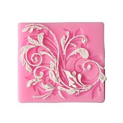 Flower Decorative pattern  Fondant Cake Cake Chocolate Silicone Molds,Decoration Tools Bakeware