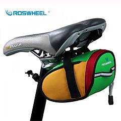 ROSWHEEL® Bike Bag 0.8LBike Saddle Bag Waterproof / Waterproof Zipper / Shockproof / Wearable Bicycle Bag 600D Polyester Cycle BagCamping