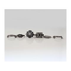 Классические кольца/Массивные кольца ( Сплав ) - Свадьба/Для вечеринок/Повседневные/Спорт