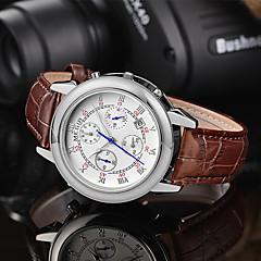 MEGIR® 2015 Men Watch of Unique Design with Duplex Dial Luxury Brands Quartz Watches