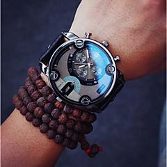 Men  Fashion Quartz Leather Wrist Watch Cool Watch Unique Watch