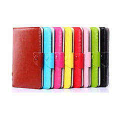 Solid Colors Pattern High Quality PU Leather with Stand Case for 7 Inch and 8 Inch Universal Tablet