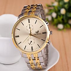 Heren Horloge Kwarts Modieus horloge Legering Band Polshorloge