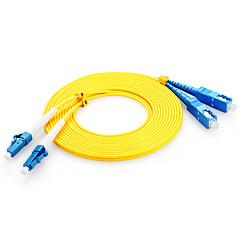 Shengwei® 3M FSC-108 LC-SC Simplex Mode Double Core Optical Fiber Jumper