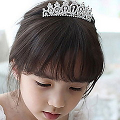 Bride Hair Combs Rhinestone Crown Wedding Tiaras