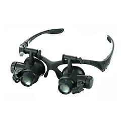 Monocular Magnifiers/Magnifier Glasses High Definition LED Weather Resistant Fogproof Generic Wide Angle Headset/Eyewear 20 25Plastic
