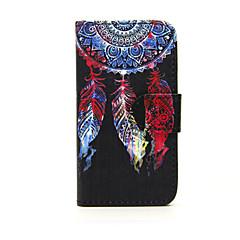 Varten Nokia kotelo Lomapkko / Korttikotelo / Tuella Etui Kokonaan peittävä Etui Unisieppari Kova Tekonahka Nokia Nokia Lumia 635
