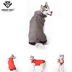 Perros Abrigos Rojo / Azul Ropa para Perro Invierno Un Color Cosplay