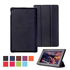 timide ours ™ cas de stand de couverture en cuir pour Amazon Kindle Fire 7 2 015 comprimés