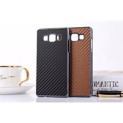 Varten Samsung Galaxy kotelo Kuvio Etui Takakuori Etui Laattakuvio Tekonahka Samsung A7 / A5 / A3