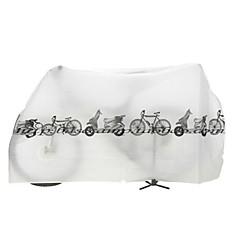 Bike Sykkelovertrekk Sykling / Fjellsykkel / Vei Sykkel / BMX / Sykkel med fast gir / Fritidssykling Vanntett Hvit / Grå Nylon 1-#