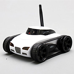 Tanques RC - Happy Cow - 4 canales - i OS / iPhone / iPad / iPod Tocuh / Android - WHITE -