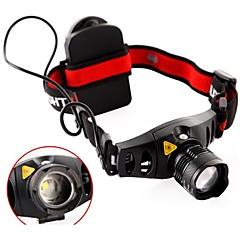 Lippavalot / LED-lamput LED 3 / 10 Tila 3000 lumens Lumenia Säädettävä fokus / Vedenkestävä / Erityiskevyet / Zoomable / Kulma valoCree