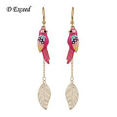 D Exceed Brid Drop Earring with Leaf Pendant Drop Earrings Trendy  Women with Animal  2015 Top Sale Earring