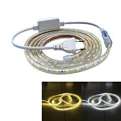 Jiawen Waterproof 26W 160LM 120x5050 SMD LED Flexible Light Strip (2M-Length / 220V)