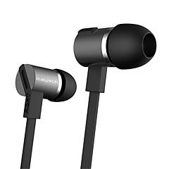 jbm hohe Stereo-Ohrhörer im Ohrmetallkopfhörer mit Mikrofon 3,5-mm-Ohrhörer für Spieler Samsung iphone