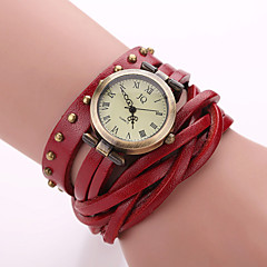 Xu™ Women's Fashion Restoring Ancient Ways Rivet Winding Quartz Watch Cool Watches Unique Watches