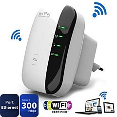 300Mbps Wireless-N Wifi Repeater 802.11N Range Expander