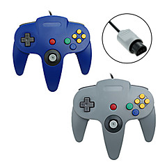 # - N64 - med Gaming Handle - av Metall / ABS - PS/2 - Styrenheter - till Nintendo Wii