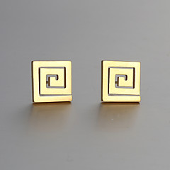 Europe and America new fashion hollow pattern earrings Series 25 Stud Earrings Wedding / Party / Daily / Casual 2pcs
