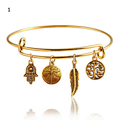 Alloy Bracelet Bangles Daily / Casual 1pc